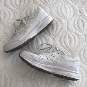 New Balance White Cross Trainers Sneakers